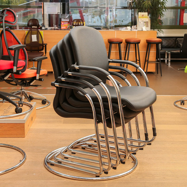 Open Chair 110 schwarz (4er Set)